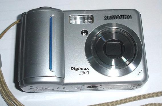 Câmera Samsung S500 Para Retirada De Peças