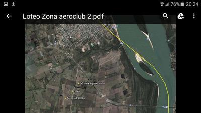 Colón Entre Ríos - Zona Aeroclub Y Escuela Agrotécnica