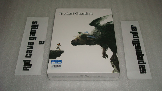 The Last Guardian Steelbook Limited Edition Ps4