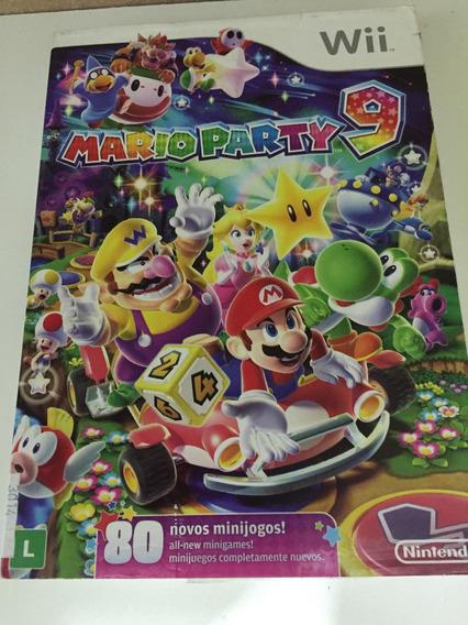 Mario Party 9 Novo Wii