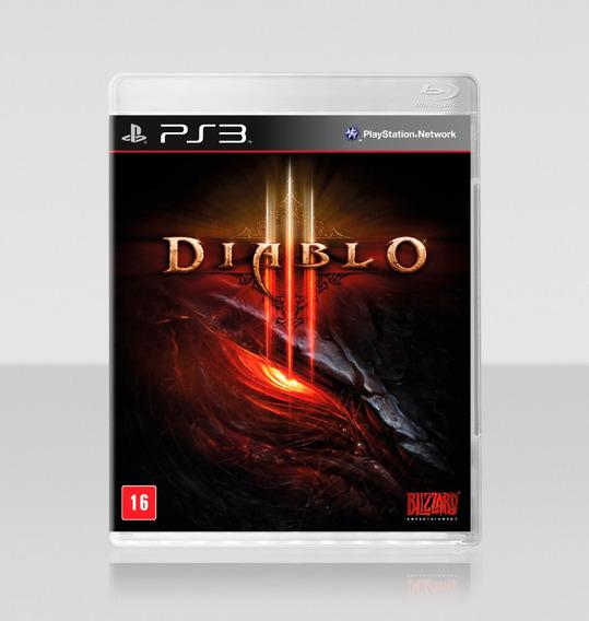 Jogo Novo Lacrado Da Blizzard Diablo 3 Para Playstation 3