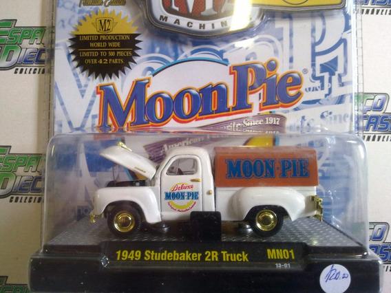 1949 Studebaker 2r Truck Moonpie Chase Pickup M2 Machines