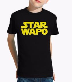 Camiseta Star Wars M2 / Starwapo Infantil