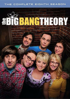 Dvd The Big Bang Theory Season 8 / Temporada 8