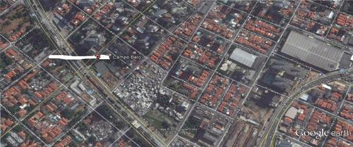 Imagem 1 de 2 de 395 -terreno No Campo Belo C/ Imóvel, Prox. Av. R. Marinho