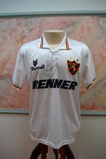 Camisa Futebol Sport Recife Pe Rhumell Antiga 951