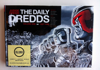 Judge Dredd: The Daily Dredds Hc (2014) Produto Importado