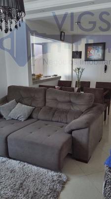 Apartamento Para Venda, 3 Dormitórios, Vila Camilópolis - Santo André - 284