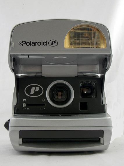 Câmera Polaroid Silver P. Raridade!!!!!