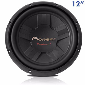 Subwoofer Pioneer 12'' Bobina Simples 400w Rms Ts W311s4