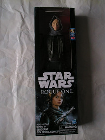 Boneca Jyn Erso Jedha Star Wars Rogue One Hasbro Disney 30cm