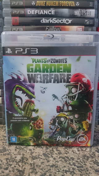 Plants Vs Zombies Garden Warfare Portugues Ps3 Frete R$10