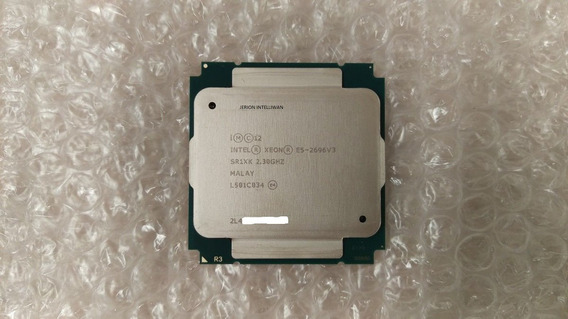 Intel ® Xeon ® Processor E5-2696 V3 (45mb Cache, 2.30 Ghz)