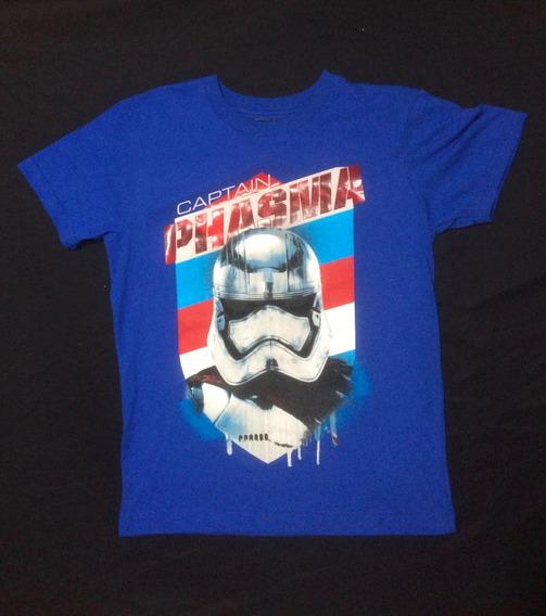 Playera Capitan Phasma Azul The Force Awakens Star Wars