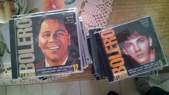 Boleros Romanticos Y Latinos .precio X Lote De 37 Cds Colec