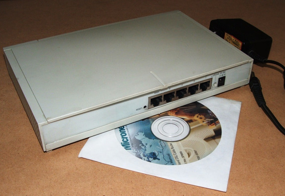 Router Micronet Sp888 4 Puertos 10/100 Mpbs