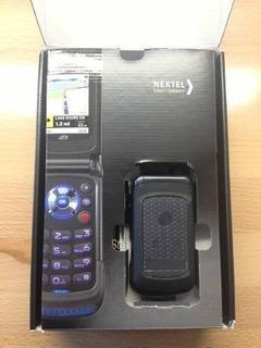 Nextel Handy I576 Mp3 Nuevo En Caja Sin Uso Films En Vidrios