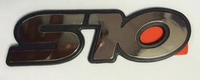 Par Emblema Adesivo S10 1995 96 97 98 99 Cromado