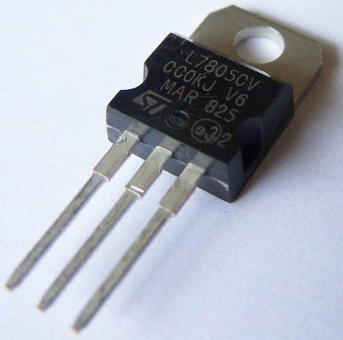 10x Ci Regulador De Tensão 7805 Lm7805 (10 Unidades) Arduino