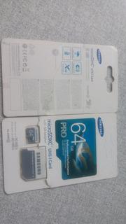 Carton De Memoria Sd Samsumg 64 Gb.