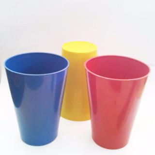 Copo Plastico Merenda Escolar Caixa C/200 Unidades Sortidos