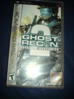 Psp Ghost Recom 2 Advanced Warfighter De Psp