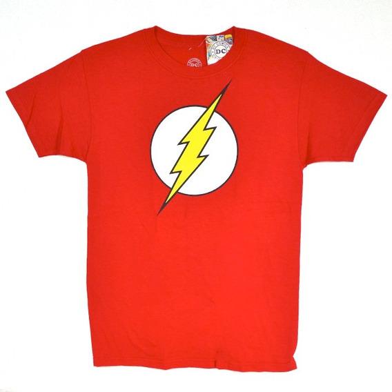 Flash Dc Comics Playera 100% Original
