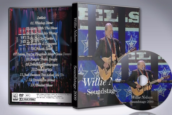 Dvd Willie Nelson - Live At Soundstage Studios 2009