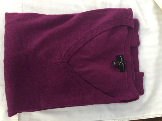 Sweater Banana Republic Color Ciruela Talle Xl