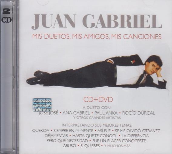 Juan Gabriel Mis Duetos Mis Amigos Mis Canciones Cd Dvd
