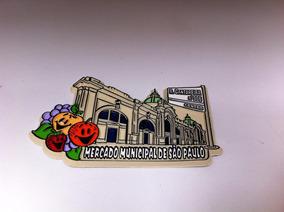 Ímã Da Cidade De São Paulo Mercado Municipal