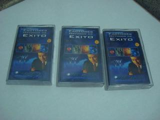 Jorge Garva Factores Optimos De Exito Lote De 3 Cassette