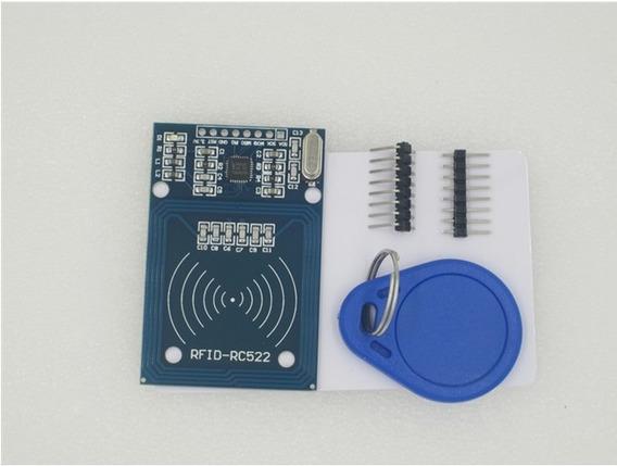 Kit Leitor Rfid Rc522 13.56 Mhz Arduino Cartão + Tag Mifare