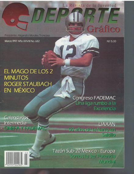 Futbol Americano Revista Deporte Grafico No 682