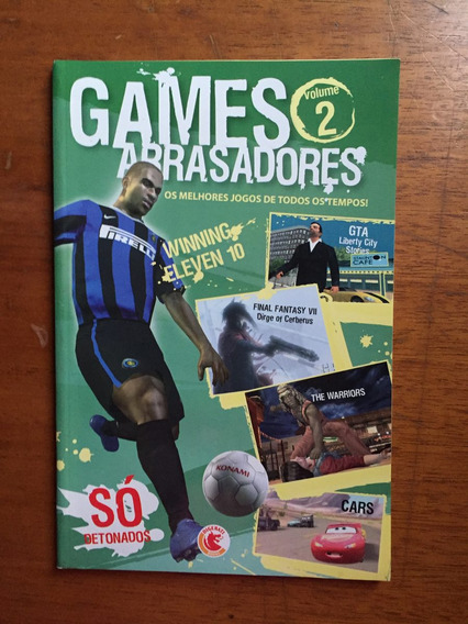 Revista Games Arrasadores 2 Winning Eleven Gta Cars E873