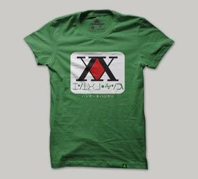 Camisa, Camiseta Anime Hunter X Hunter Masculino