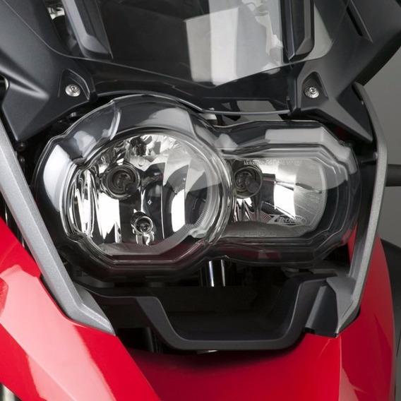 WONYAN Motocicleta Piezas Faro Rejilla De La Guardia lente protector for cubrir la BMW R1200GS LC 2013-2020 R 1200 GS Adventure 2016 2017 2014 2015 2018 2019 2020 Color : Black