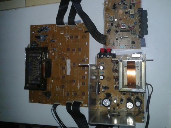 Cce:md-2500 Kit Placa Da Fonte+placa Do Display+placa Rádio
