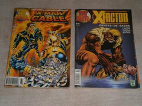 X-men, Cable, X-factor, Magneto, Bishop 3 Gibis R$ 20,00