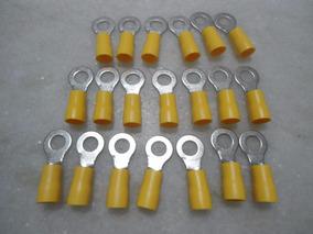 20 Terminais Pre Isolado Tipo Anel 4a6mm