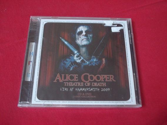 Alice Cooper - Theatre Of Death (cd+dvd) (f) - U