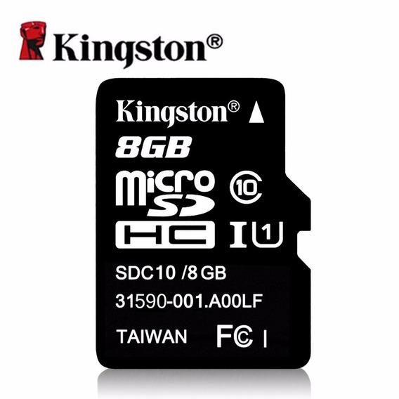 Cartão De Memoria Kingston Classse 10 - 8gb - Frete Fixo