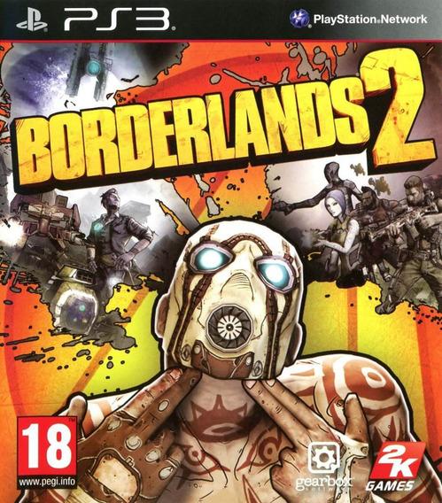 Jogo Borderlands 2 Para Ps3 Original Lacrado