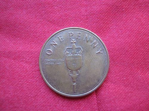 Imagen 1 de 2 de Gibraltar 1 Pence Varios Años Disponibles