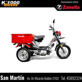 Zanella Tricargo 100 4t Triciclo Con Caja Trabajo Reparto