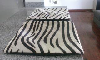 Finas Fundas De Cojin Diseño Zebra Hechas En India