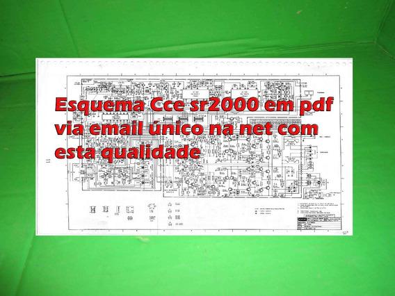 Esquema Receiver Cce Sr2000 Sr 2000 Em Pdf Via Email