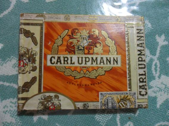 Caja Vacia De 10 Cigarros Carl Upmann
