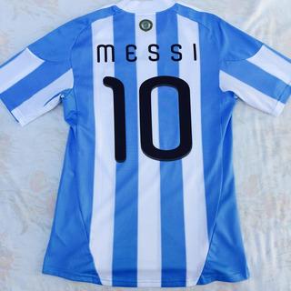 P79291 Camisa adidas Argentina Home 2010 M Messi Fn1608