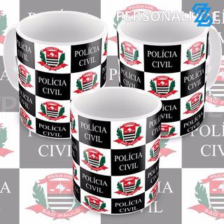 Caneca Polícia Civil De São Paulo Promoção Pc-sp P1